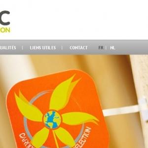 Accueil du site web Carodec