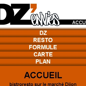 Site web DZ'envies version mobile