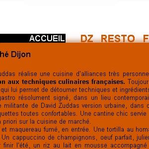 Site web DZ'envies version tablette