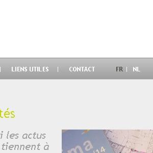 Page d'actualité du site web Elico