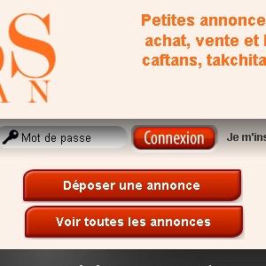 Site web Miss Caftan version tablette