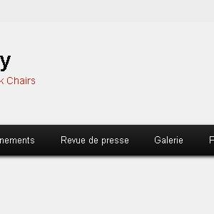Site web Quad Rugby avec Corentin Le Guen et les Black Chairs version ordinateur